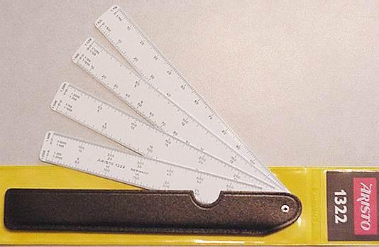 Как сделать веер из линеек