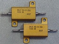 Dale HG-10, 20W, 100 Ohm, 3%
