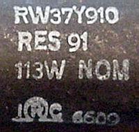 RW37Y910