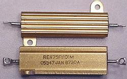 JAN RER75F1101M 1.1K Resistor