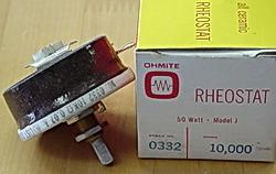 Ohmite 0332, 10K, 50W, CLICK for bigger PIC!