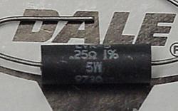 Dale LVR-5 0.25 Ohm, 1%