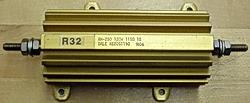 Dale RH-250, 120W, 115 Ohm Resistor